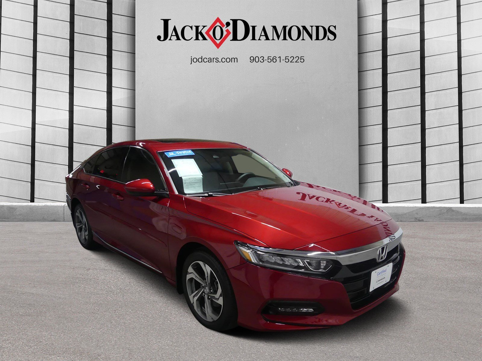 Certified Pre-Owned 2019 Honda Accord Sedan EX 1.5T