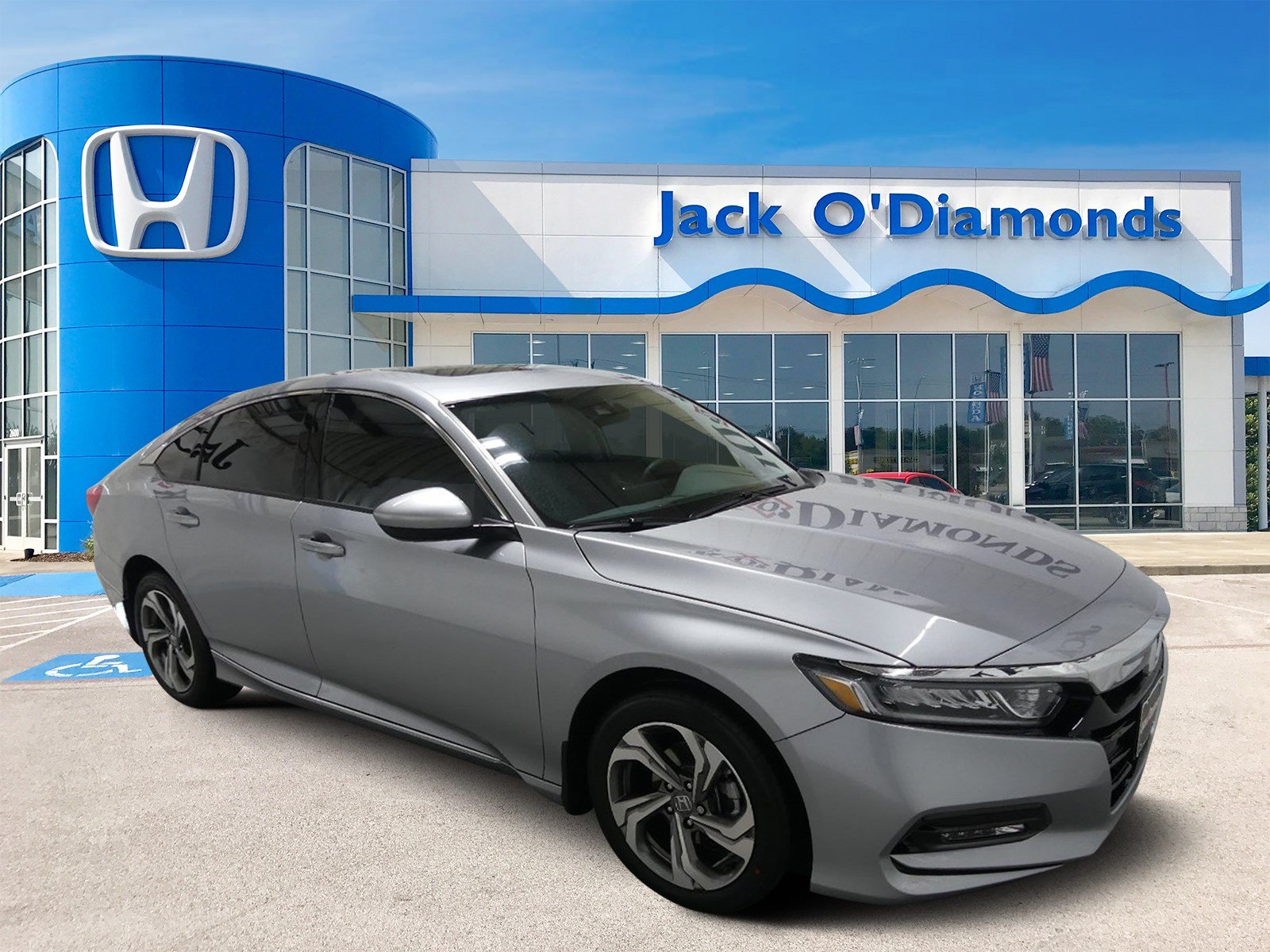 New 2018 Honda Accord Sedan EX 4dr Car in Tyler 18HA248