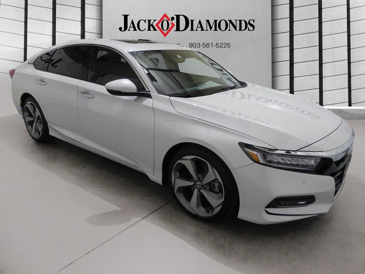 New Honda Accord Sedan Touring Dr Car In Tyler HA Jack - 2018 acura tsx navigation