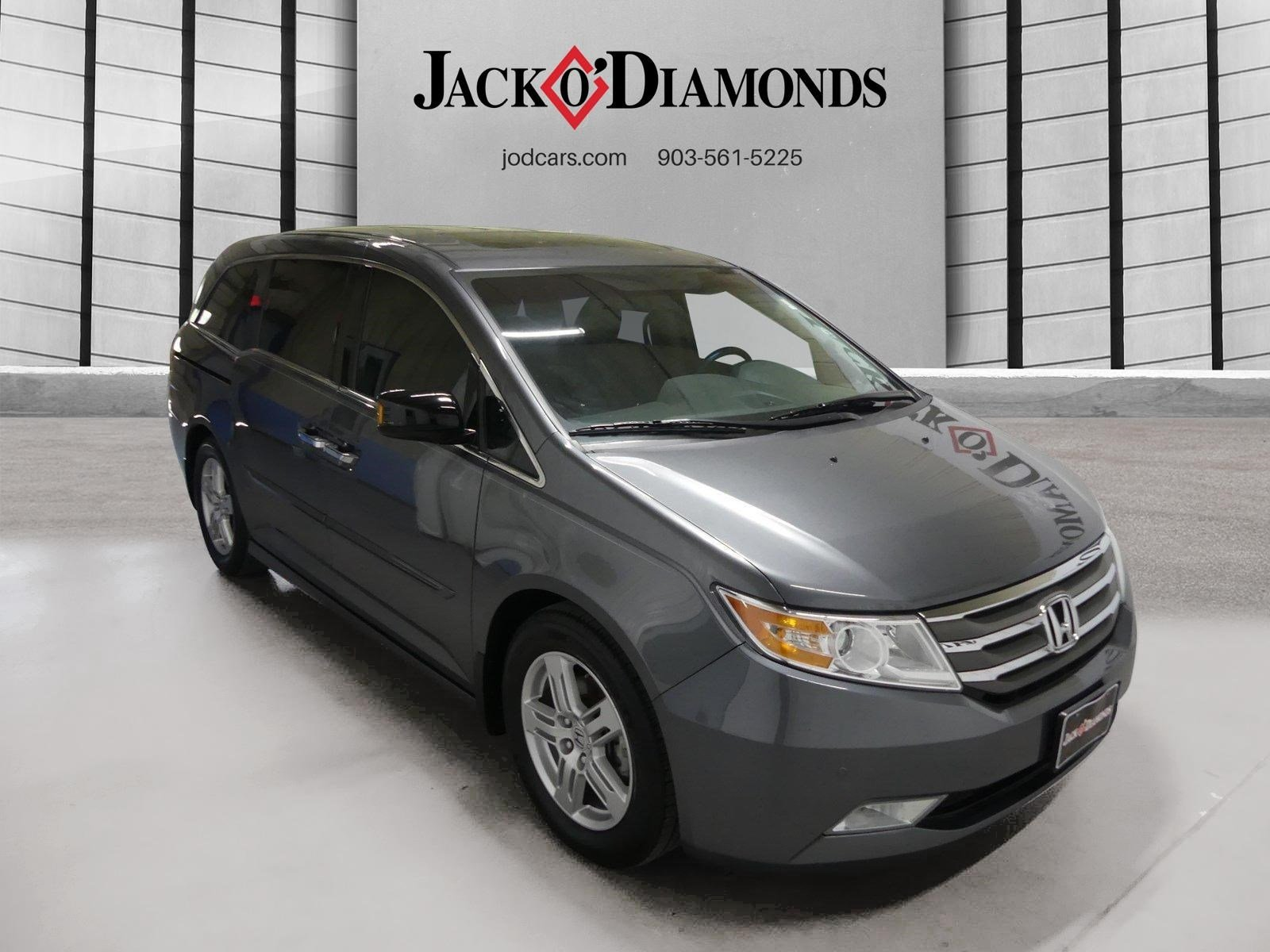 Pre Owned 2012 Honda Odyssey Touring Mini van in Tyler 18HO51A